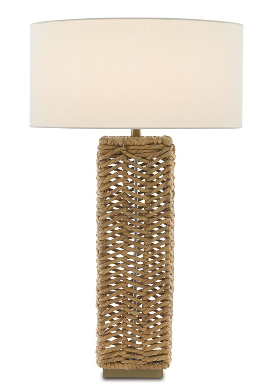 Water Hyacinth Table Lamp-$425.00