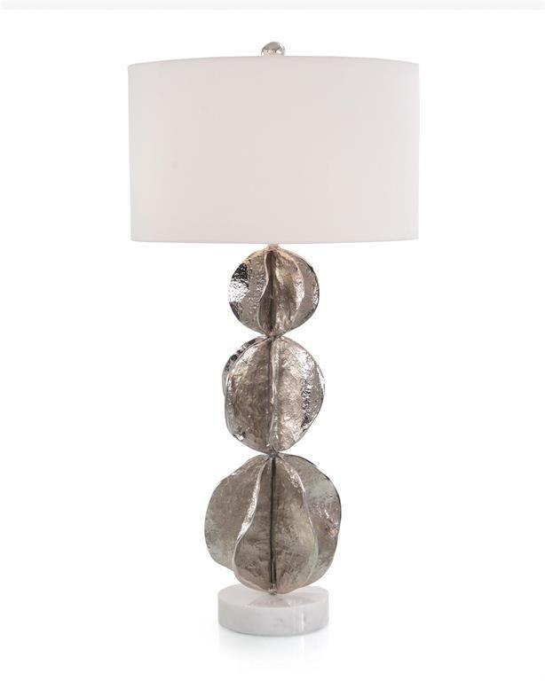 Nickle Sphere Table Lamp-$968.00
