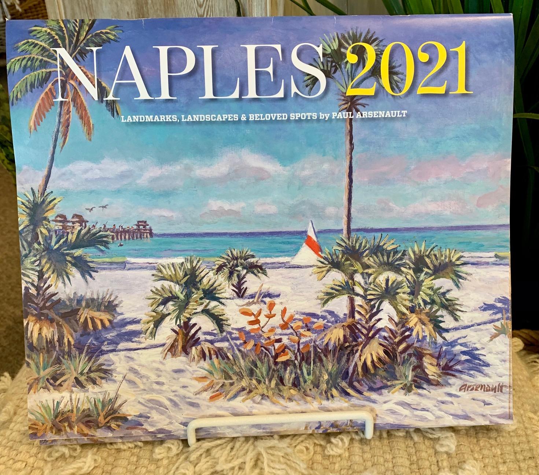 Naples 2021 Calendar-$20.00