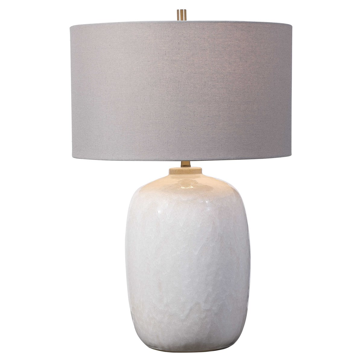 Ivory Glazed Table Lamp-$275.00