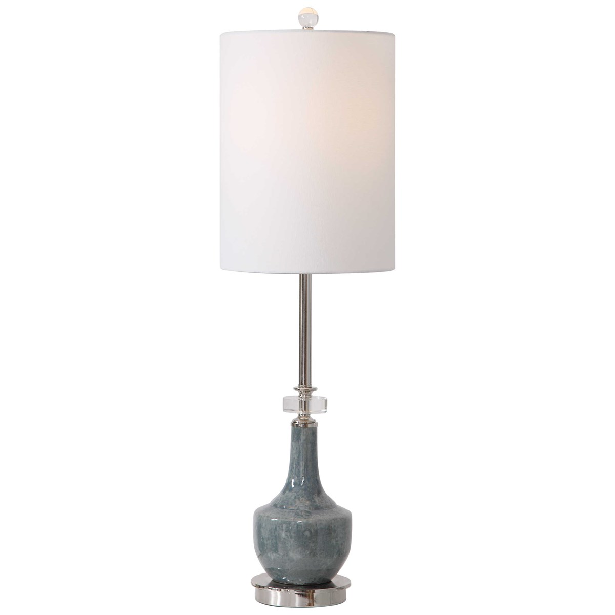 Mottled Blue Buffet Lamp-$280.00