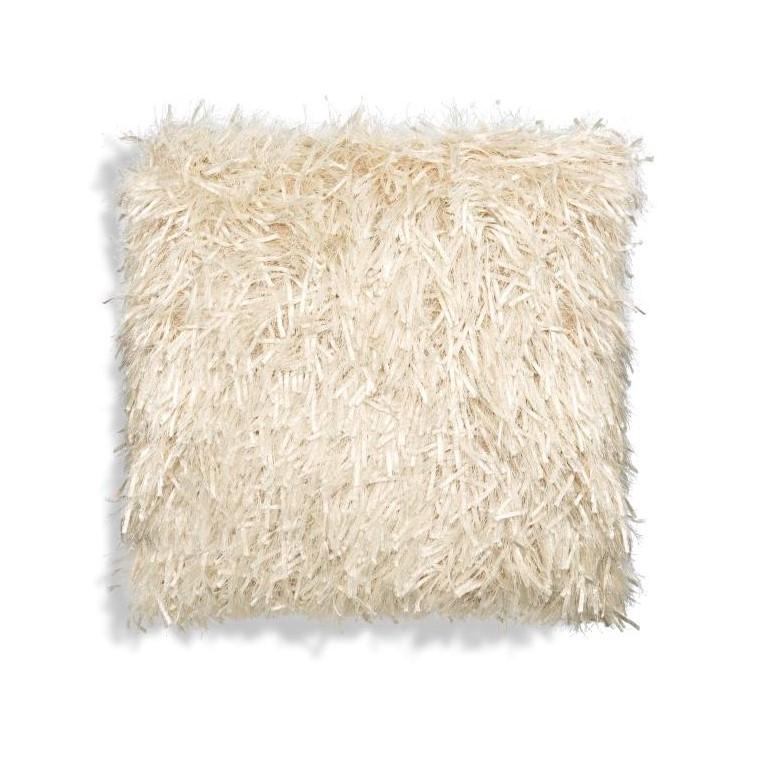 White Ribbons Square Pillow-$156.00