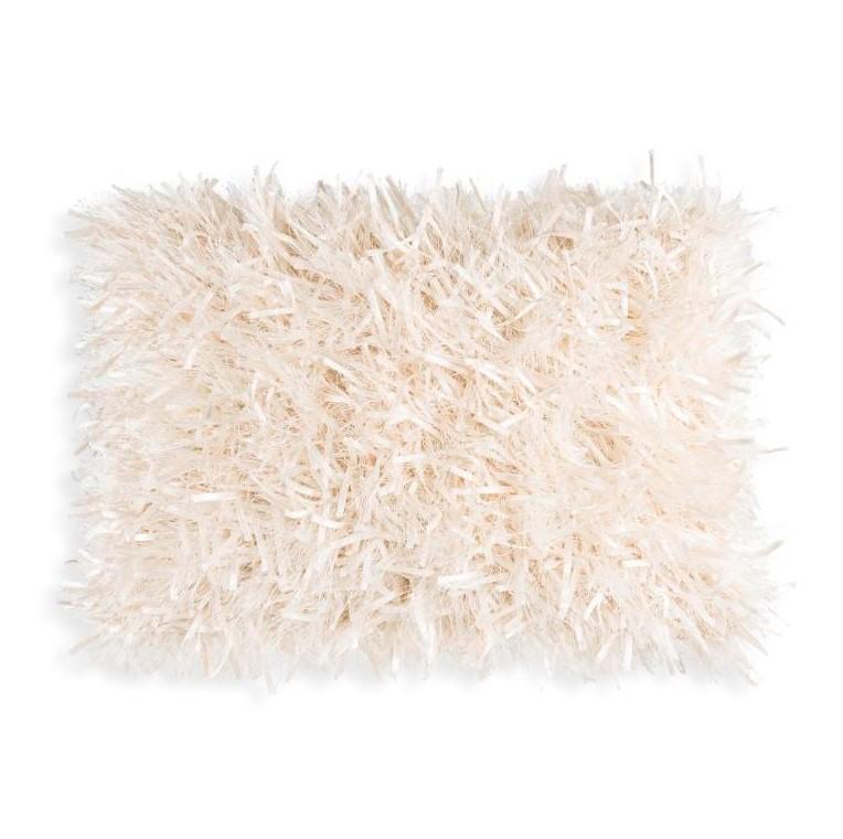 White Ribbons Rectangular Pillow-$140.00
