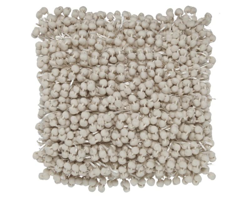 Square Pom Pom Pillow-$135.00