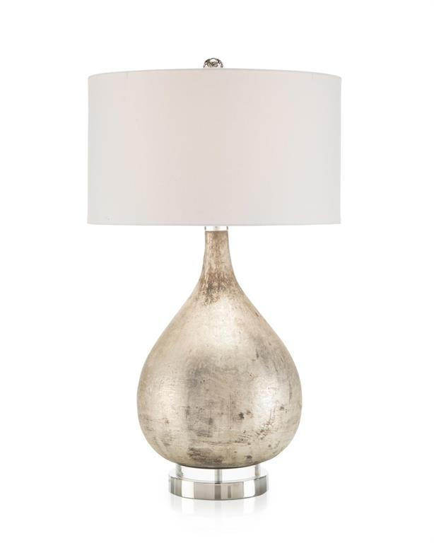 Weathered Silver Lamp-$865.00