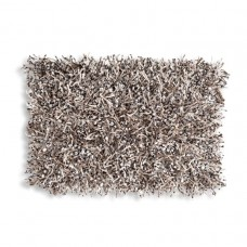 Grey Shaggy Rectangular Pillow-$140.00