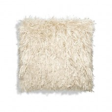 White Ribbons Square Pillow-$156.00