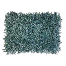 Turquoise Shaggy Pillow-$120.00