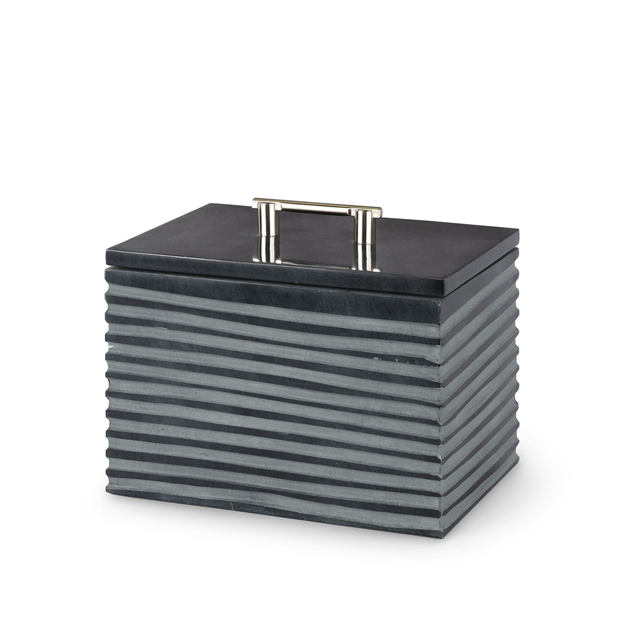 Stacked Soapstone Box, Med-$178.00