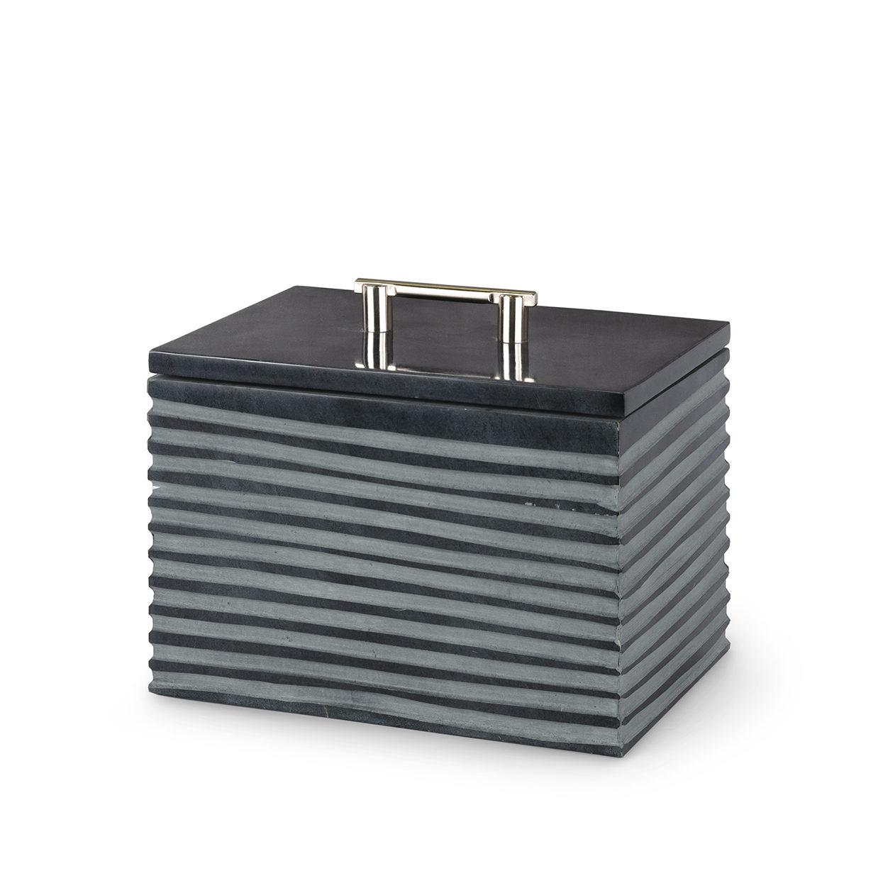 Stacked Soapstone Box, Med-$178.00