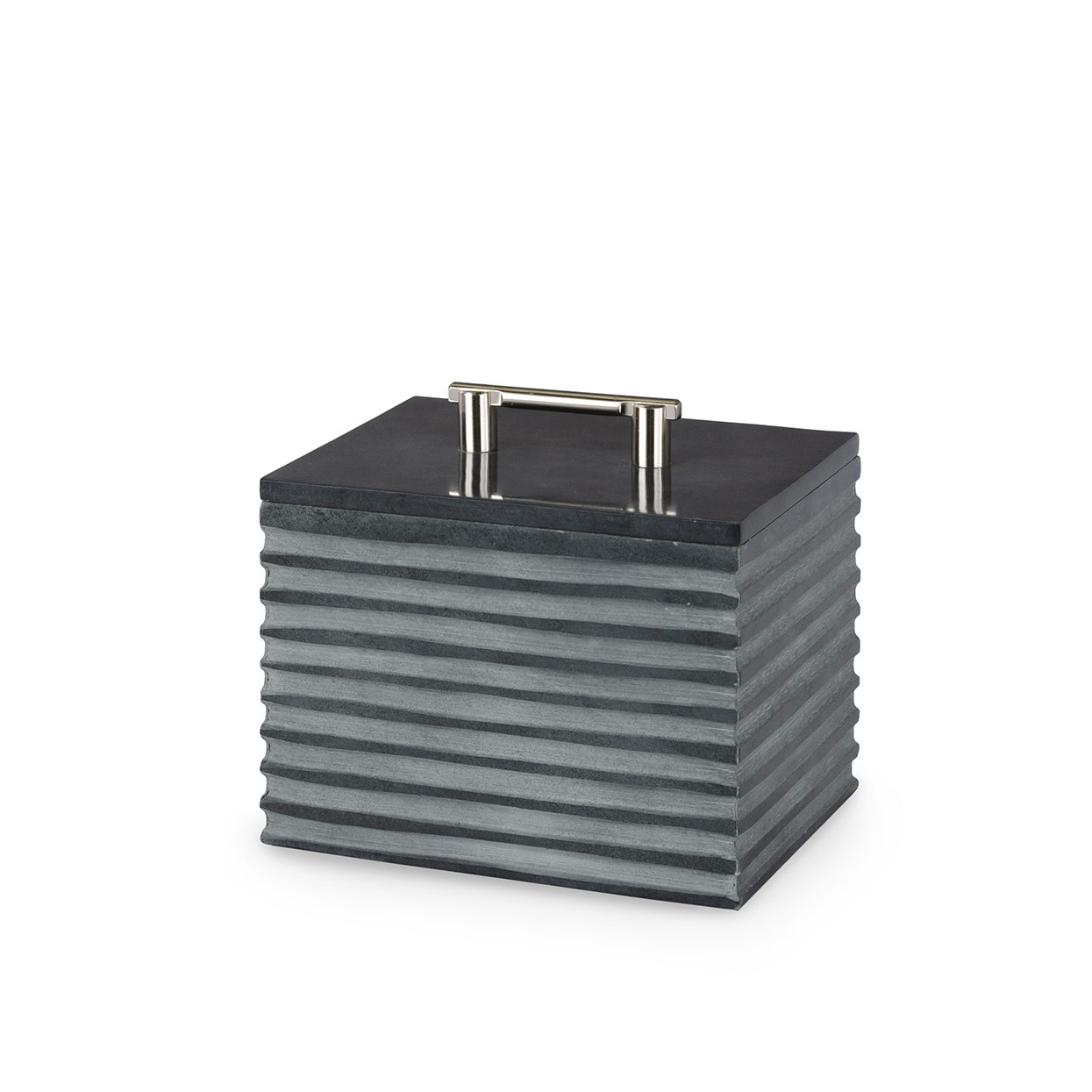 Stacked Soapstone Box, SM-$138.00