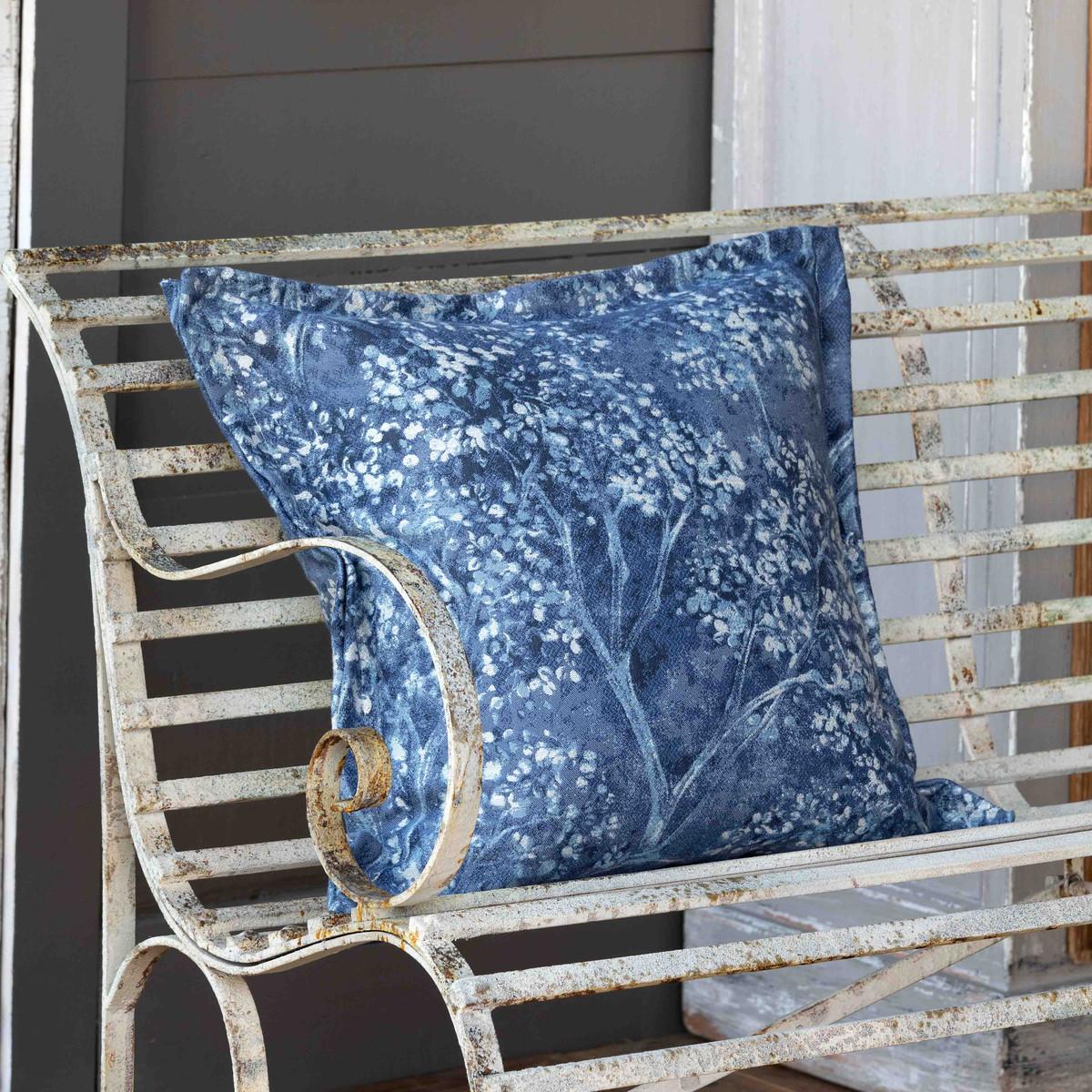 Blue Hydrangea Pillow-$124.00