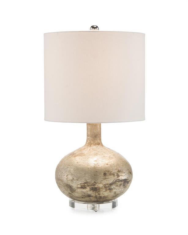 Textured Glass Lamp-$625.00