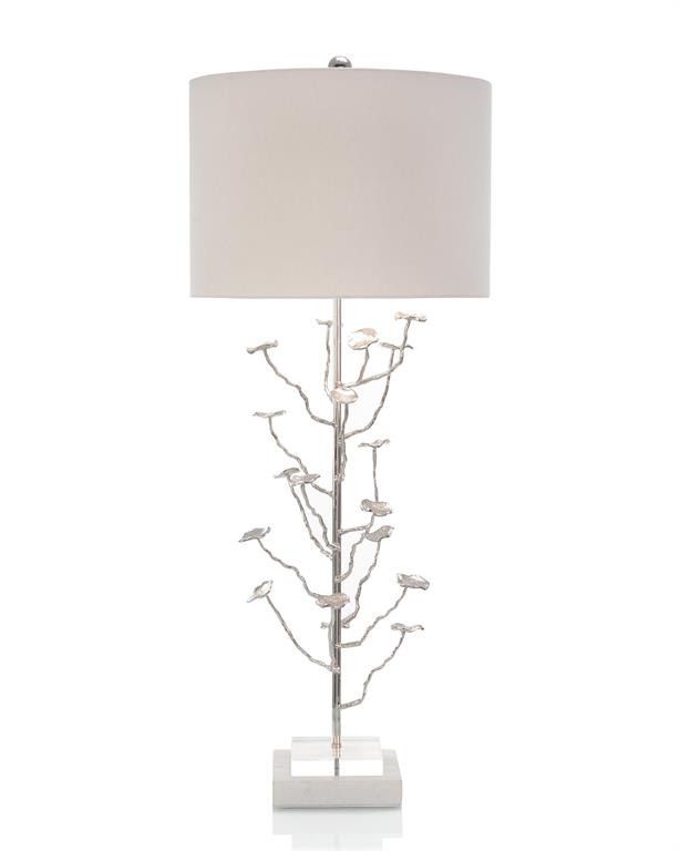 Silver Leaves Table Lamp-$840.00